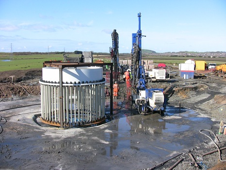 Mine workings in Fife