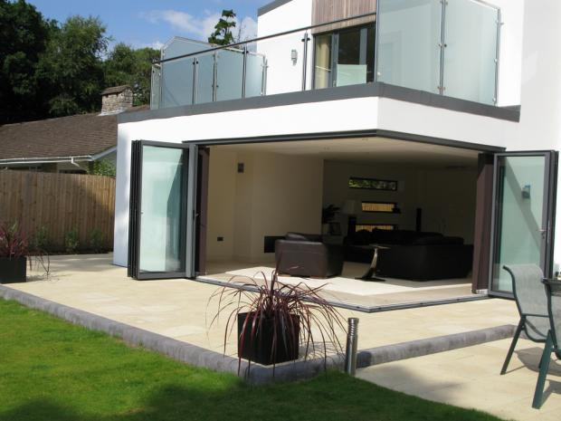 Finding a good contractor in cumbria kingmoor consulting for Conservatory doors exterior
